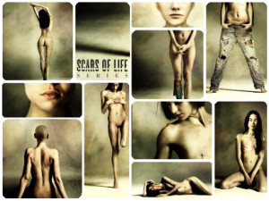 scars of life - daniele deriu works wh