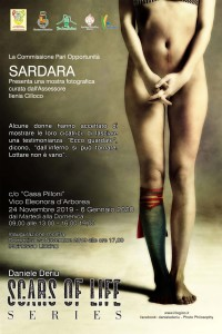Locandina SARDARA Scars of life Daniele Deriu