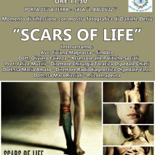 Convegno esposizione Scars of life di Daniele Deriu a San Salvo