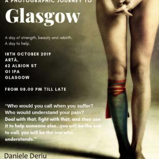 Scars of life di Daniele Deriu a Glasgow